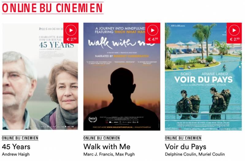 Cinemien website wordt VOD-platform