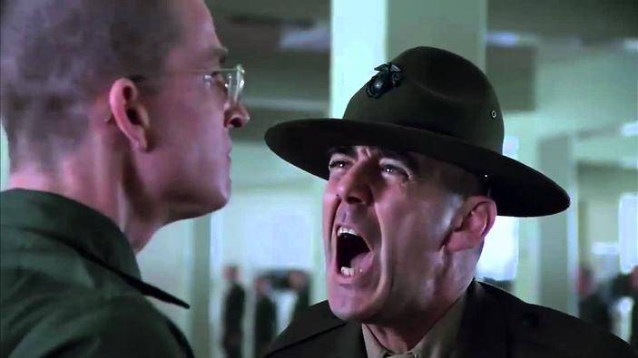 R. Lee Ermey in Full Metal Jacket (c) 1987