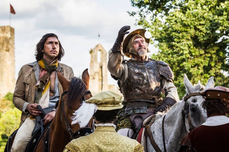 Adam Driver en Jonathan Pryce in The Man Who Killed Don Quixote (c) 2018