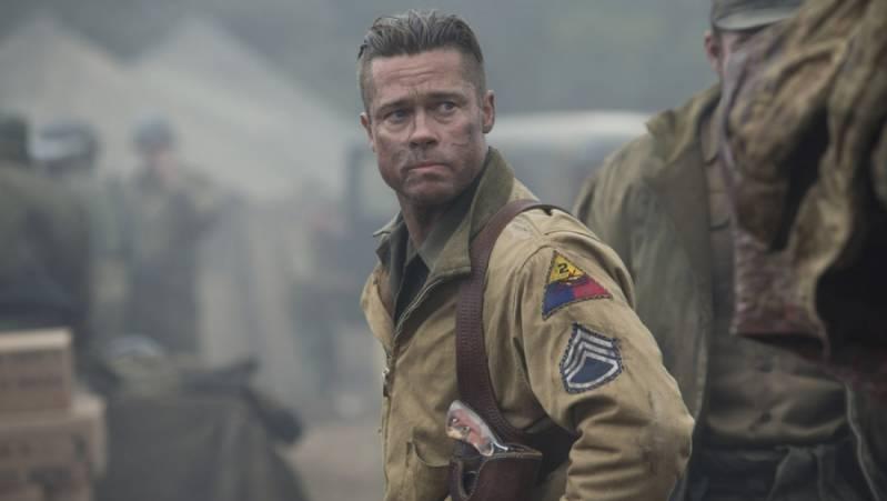 Brad Pitt in 'Fury' (c) 2014