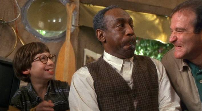 Bill Cosby (midden) in de film 'Jack' (c) 1996