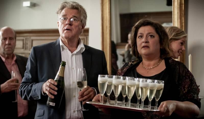 Annet Malherbe met Jeroen Krabbé in 'Alleen maar nette mensen' (2012)