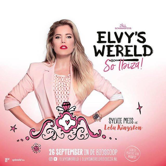 Sylvie Meis op insta-poster Elvy's Wereld (c)