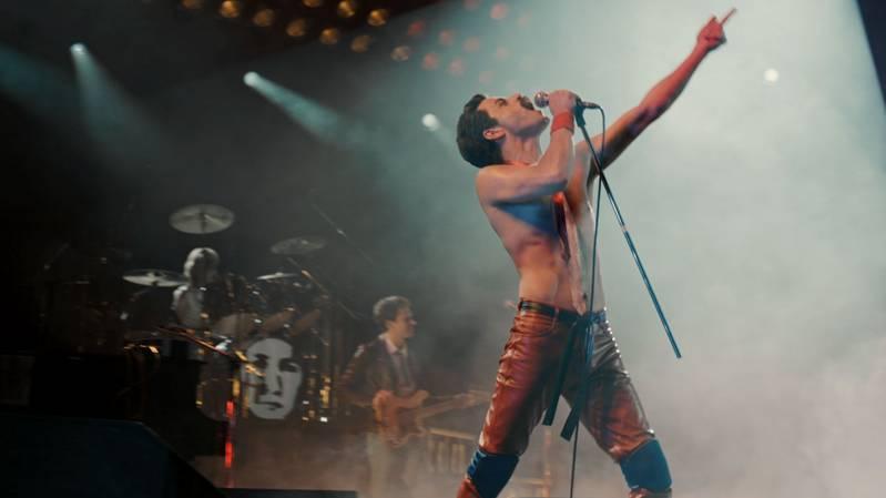 Rami Malek als Freddy Mercury in 'Bohemian Rhapsody'.