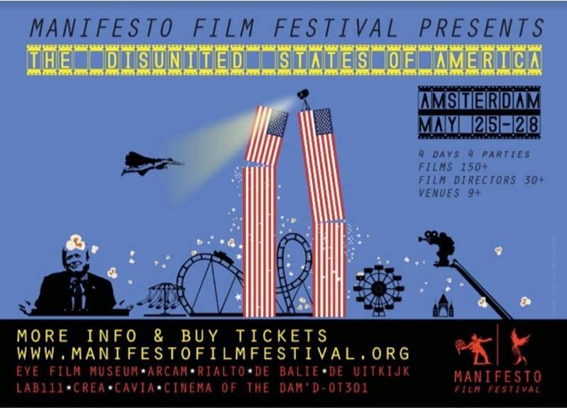 Flyer van het Manifesto Film Festival (c) 2018