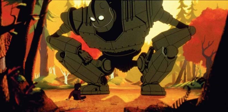 Beeld uit 'The Iron Giant', een eerdere animatiefilm van Warner Bros (c) 1999.