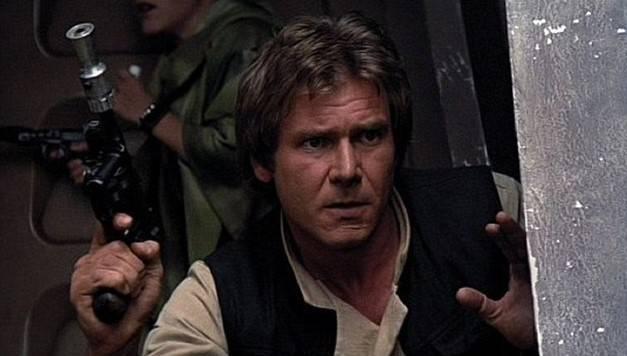 Harrison Ford als Han Solo in 'Return of the Jedio' (1983)