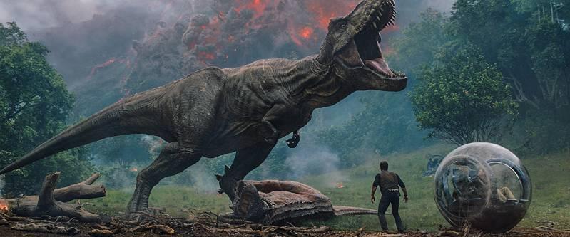 Beeld uit 'Jurassic World: Fallen Kingdom' (c) 2018.