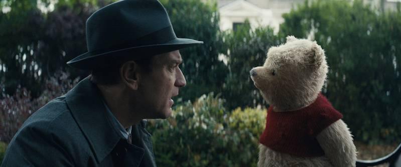 Ewan McGregor and Jim Cummings in Christopher Robin (2018).