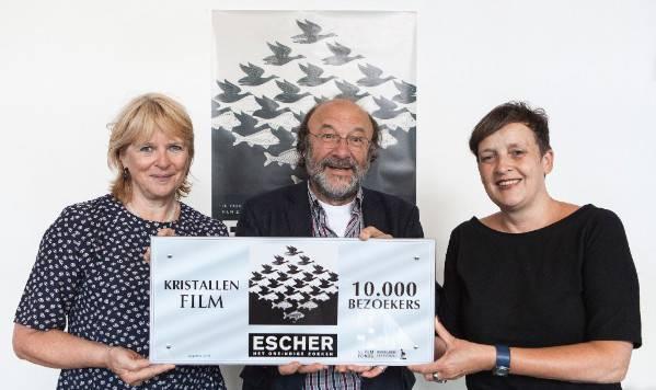 Kristallen film voor Escher: Het oneindige zoeken