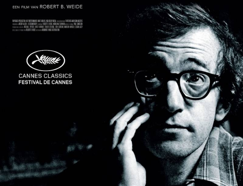 Deel van poster Woody Allen Documentary © 2012 Cannes Classics | imagine