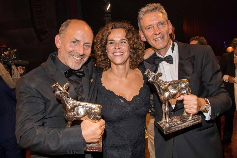 Alain de Levita, Sabine Brian en Sytze van de Laan (Betse Film - Bankier van het Verzet), Copyright 2018 ArjoFrank Fofografie