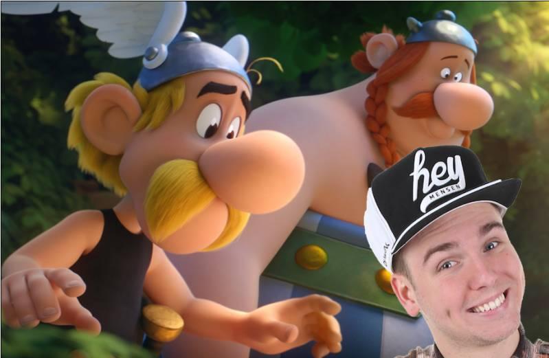 Dylan Haegens spreekt stem in nieuwe Asterix-film