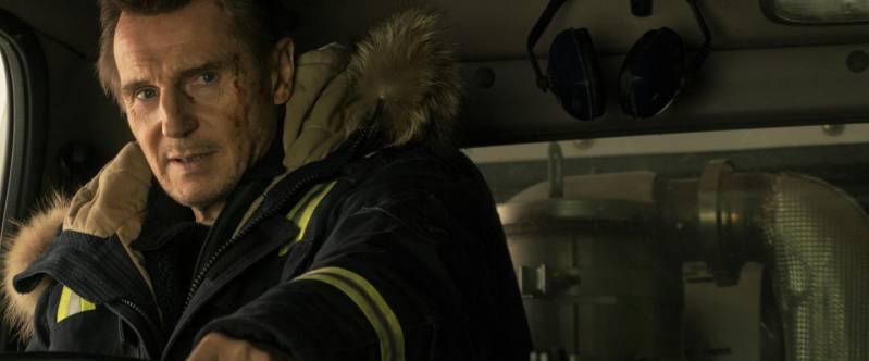 Liam Neeson als de wraakzuchtige Nels Coxman in Cold Pursuit