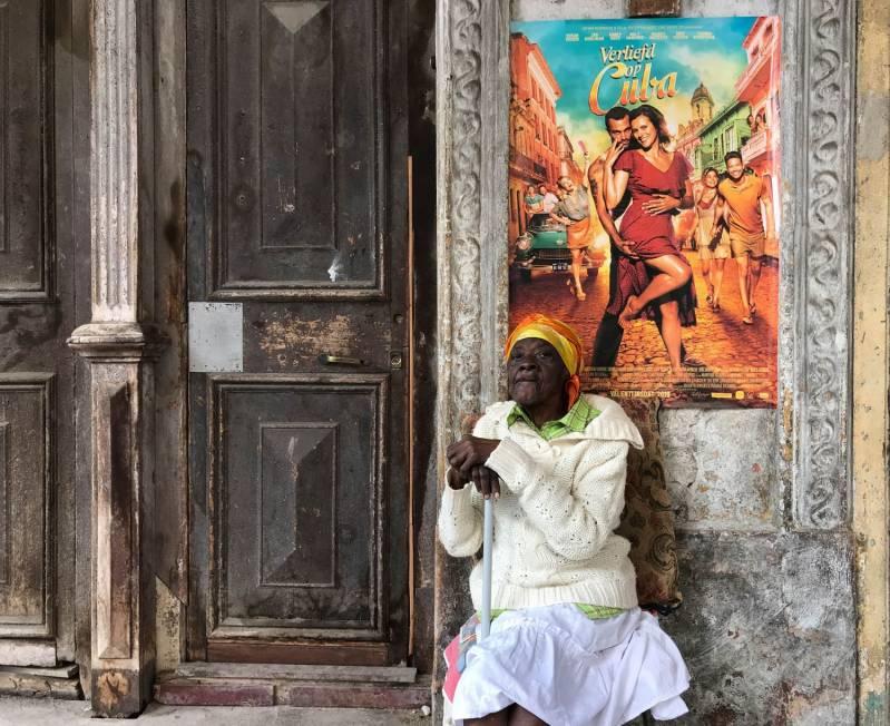 Volgens distributeur Entertainment One zijn ook in Cuba de posters voor de film te zien © 2019 Entertainment One Benelux