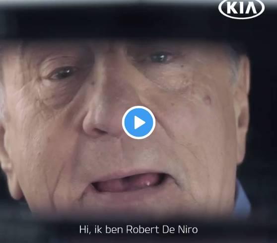 Robert De  Niro in de reclame © 2019 KIA Nederland