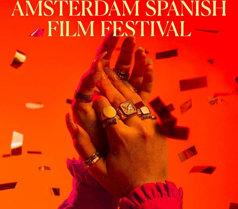 Deel poster Amsterdam Spaans filmfestival 2019.