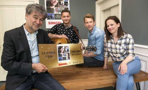 Frank Krom, Douwe Bob, Waldemar Torenstra en Lies Visschedijk © 2019 Nederlands Film Festival/Friso Spoelstra.