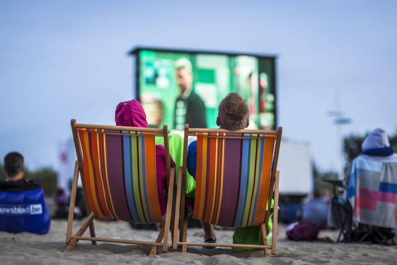 film op het strand, © Stad Brugge