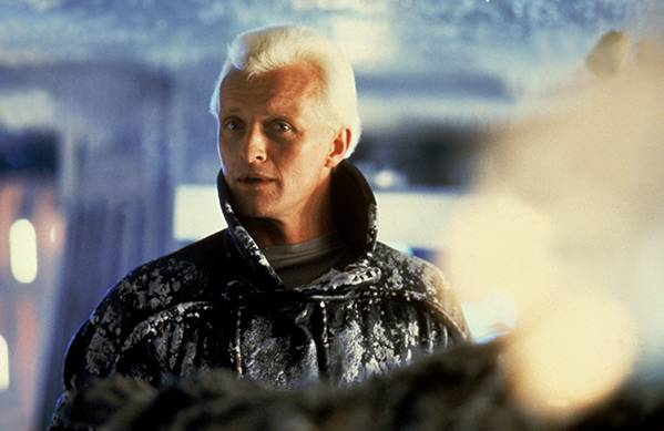 Rutger Hauer als replicant Roy Batty © 2019 Warner Bros. Pictures. All rights reserved.