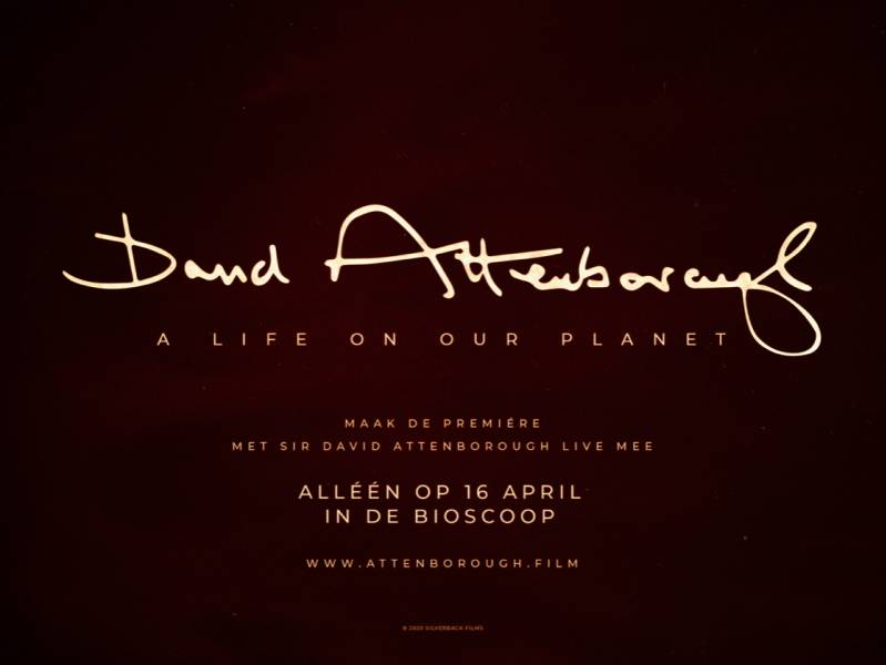 Lancering filmtrailer: A Life on Our Planet