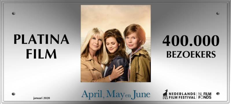 April, May en June haalt Platina