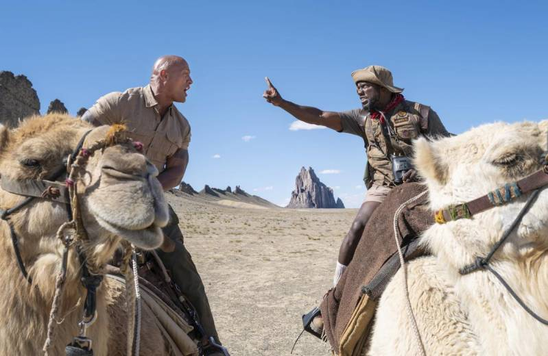 Dwayne Johnson en Kevin Hart in Jumanji: The Next Level © 2019 SONY PICTURES ENTERTAINMENT INC.