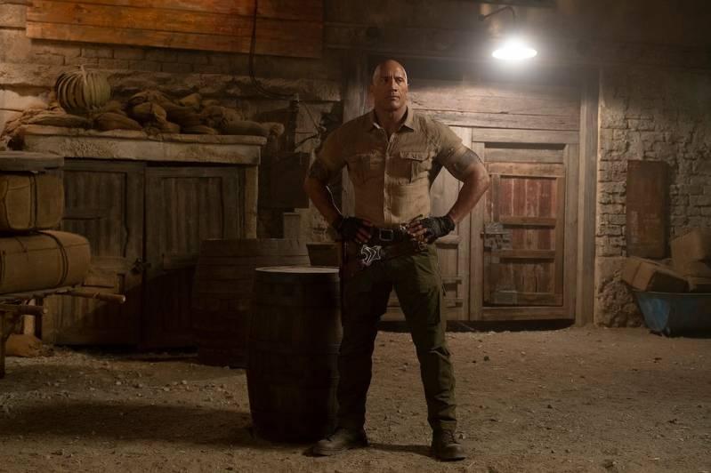 Dwayne Johnson in Jumanji: the Next Level © 2019 Universal Pictures International