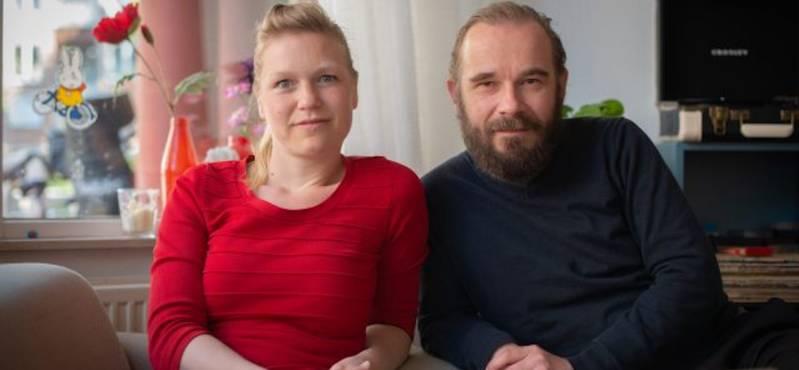 Still uit Lockdown: Lore Dijkman, Michel Sluysmans