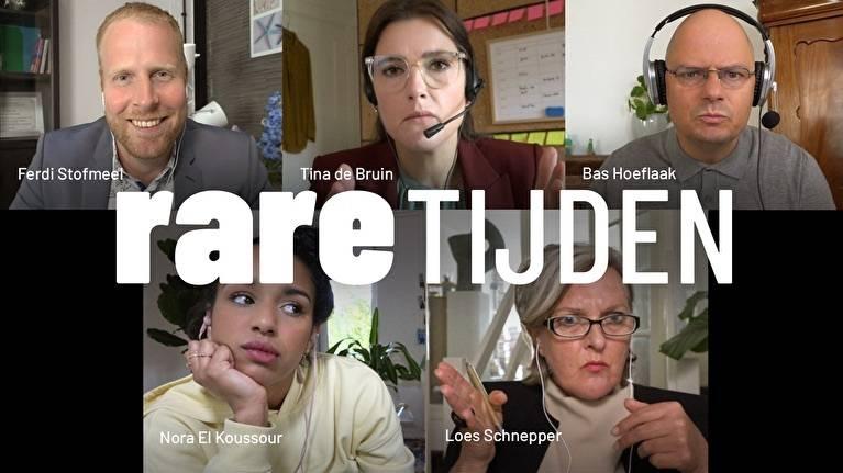 Web-poster van Rare Tijden © 2020 KPN