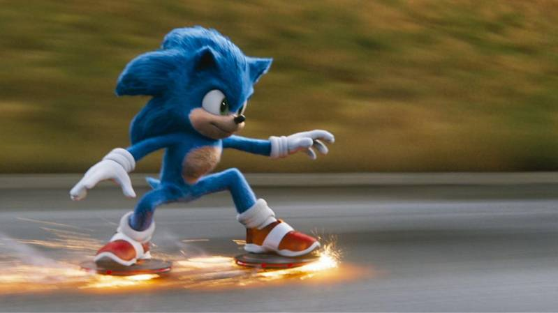 Still uit Sonic the Hedgehog