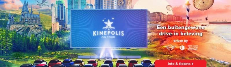 Kinepolis bouwt grootste led dirive-in