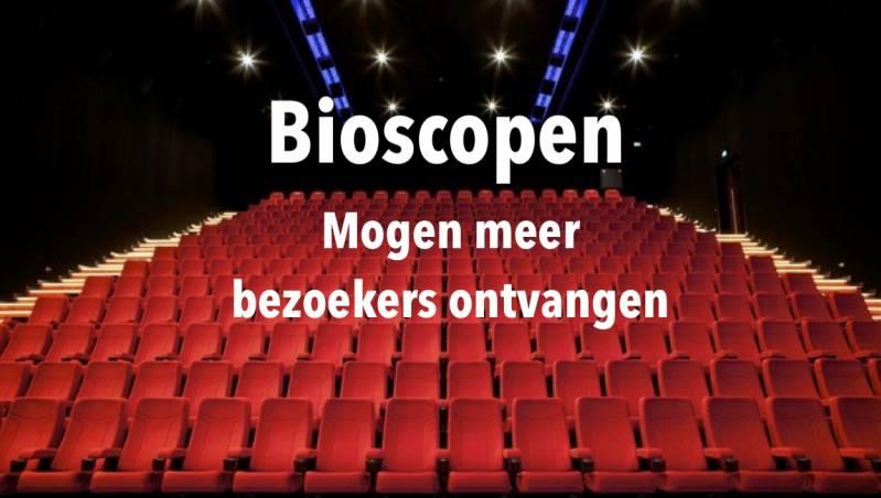 Bioscopen en filmsets krijgen meer vrijheid