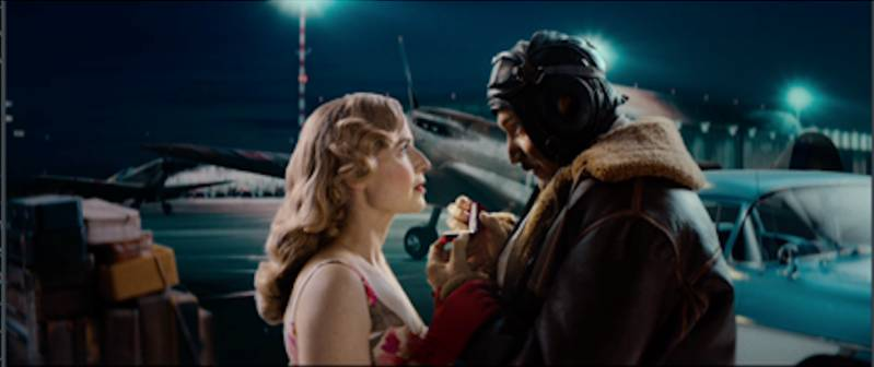 Still uit reclame-filmpje Ongestoorde romantiek
