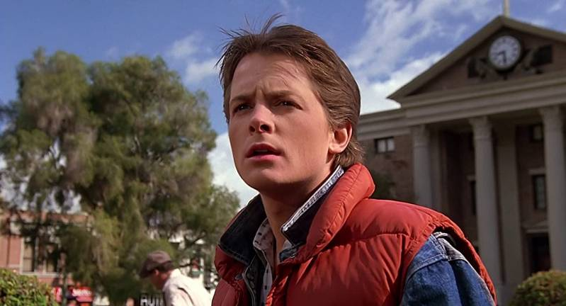 Michael J. Fox in Back to the Future (1985)