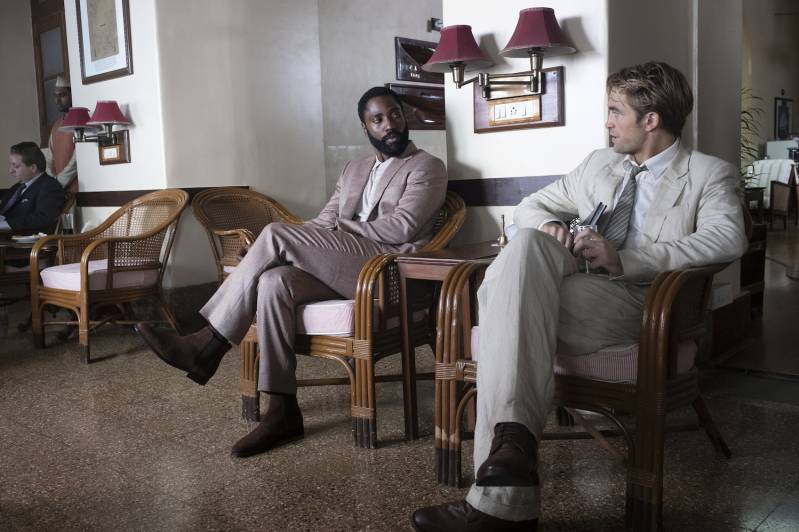 John David Washington en Robert Pattinson in TENET © 2020 Fotografie:  Melinda Sue Gordon | Warner Bros. Entertainment Inc. All Rights Reserved.
