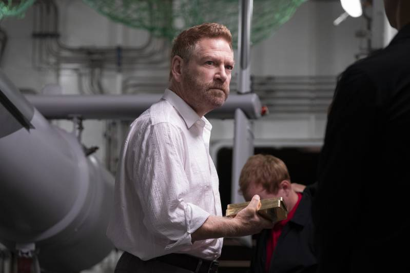 Kenneth Branagh in TENET © 2020 Fotografie: Melinda Sue Gordon | Warner Bros. Entertainment Inc. All Rights Reserved.