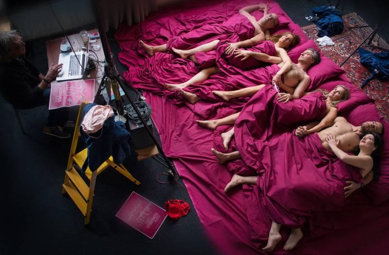 Behind the scenes tijdens fotoshoot © Fotograaf Mattias Vanderhoeven | 2CFilm