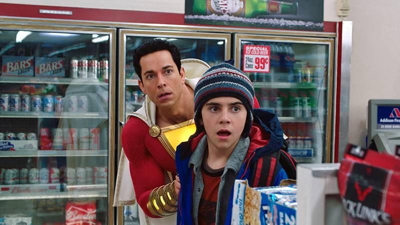Jack Dylan Grazer en Zachary Levi in Shazam! (2019)