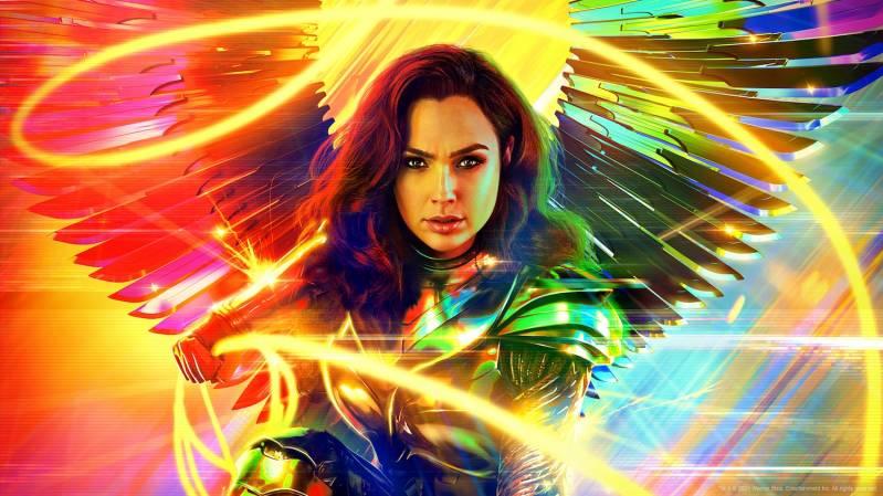 Gal Gadot is Wonder Woman 1984
