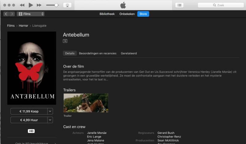 Apple aangeklaagd wegens misleiding koop-films