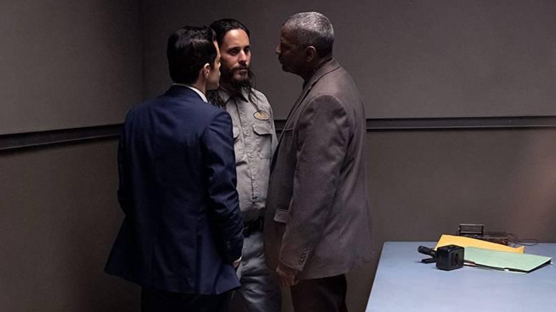 Rami Malek, Jared Leto en Denzel Washington in The Little Things (2021)