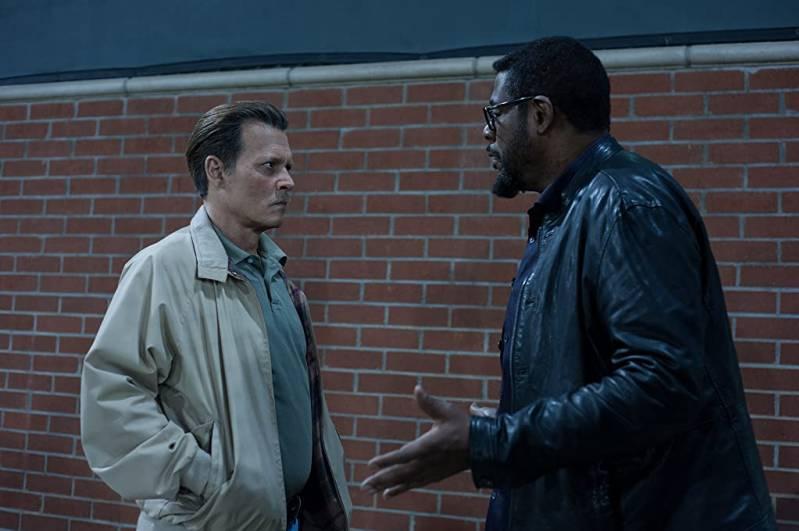 Johnny Depp en Forest Whitaker in City of Lies (2018)