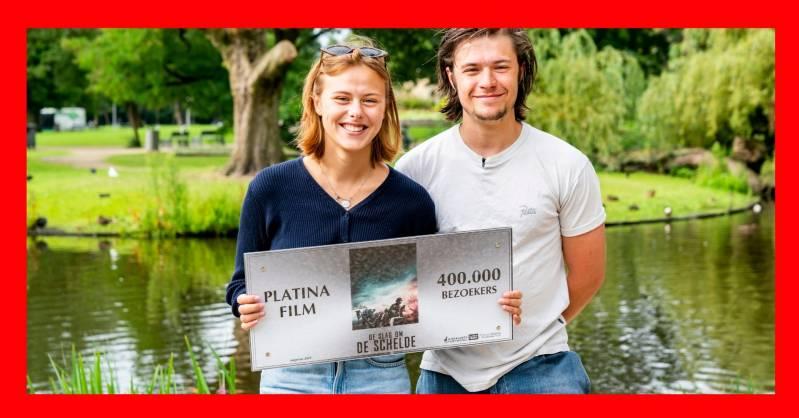 Susan Radder en Gijs Blom met de Platina Film Award © Fotocredit: NFF/Joke Schut
