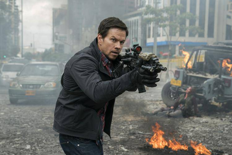Mark Wahlberg stars as Ground Branch officer Jimmy Silva in MILE 22, Motion Picture Artwork © 2017 STX Financing, LLC. All Rights Reserved.