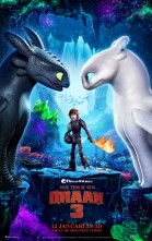 How to Train Your Dragon 3 3D poster