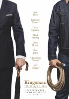 Kingsman: The Golden Circle 3D poster