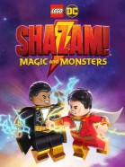 Lego Superheroes Shazam: Monsters & Magic poster