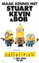 Minions 3D poster
