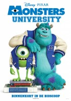 Monsters University 3D (NL) poster